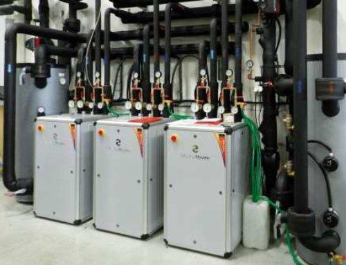 POEX Velké Meziříčí a.s. – chlazení azpětné využití odpadního tepla ze skladu surovin